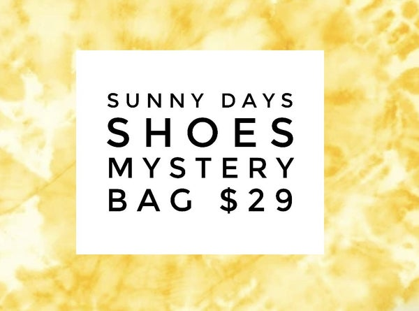 Sunny Days Shoes Mystery Bag