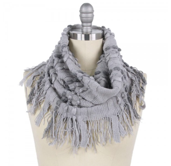 Eye On The Prize Scarf Grey