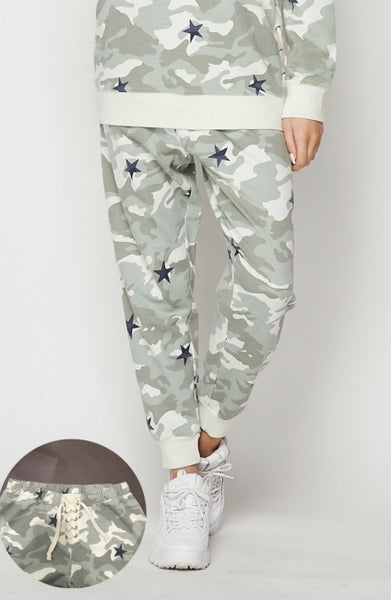 Camo Star Honeyme Joggers