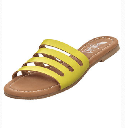 Corky's Bikini Sandal Yellow