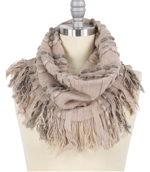 Eye On The Prize Scarf Beige