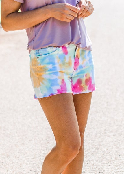 Judy Blue Tye Dye Shorts