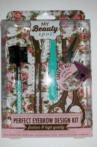 Picture Perfect Eyebrows 5 Piece Grooming Kit