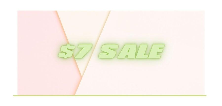 $7 Sale