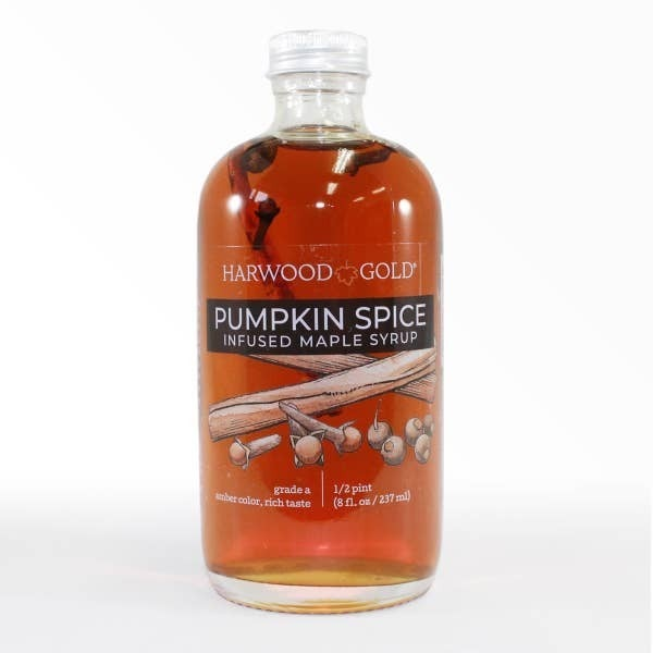 8oz - Pumpkin Spice Infused Maple Syrup