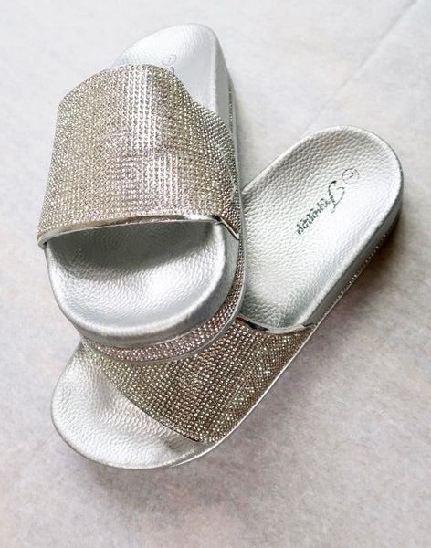 Sparkle Slip Flop