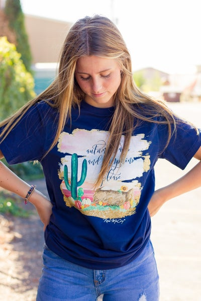 Autumn Leaves Graphic Tee