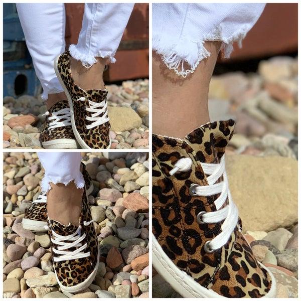 Lace Up Slide  On Sneaker