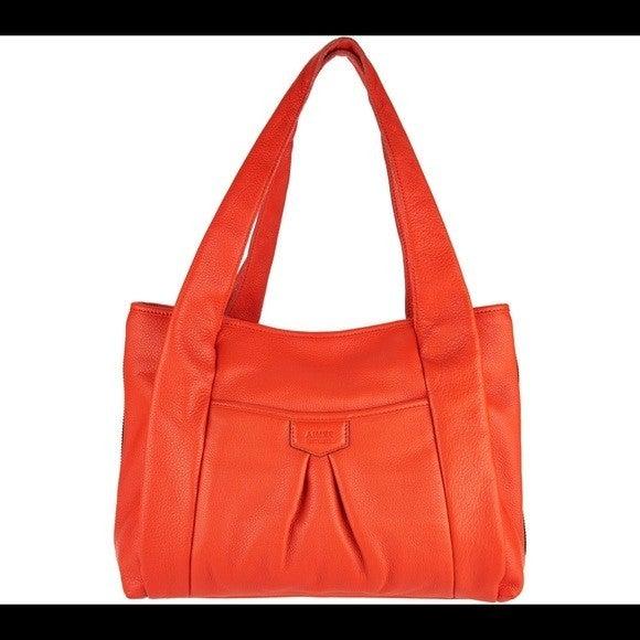 Aimee Kestenberg Pebble Leather Shopper Handbag