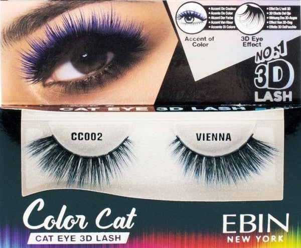 3D Color Cat Eyelashes