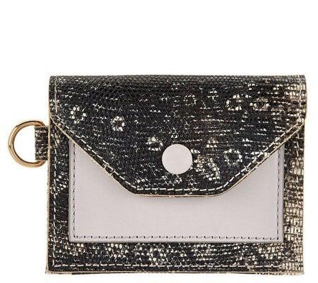 RFID LOGO Leather Wallet