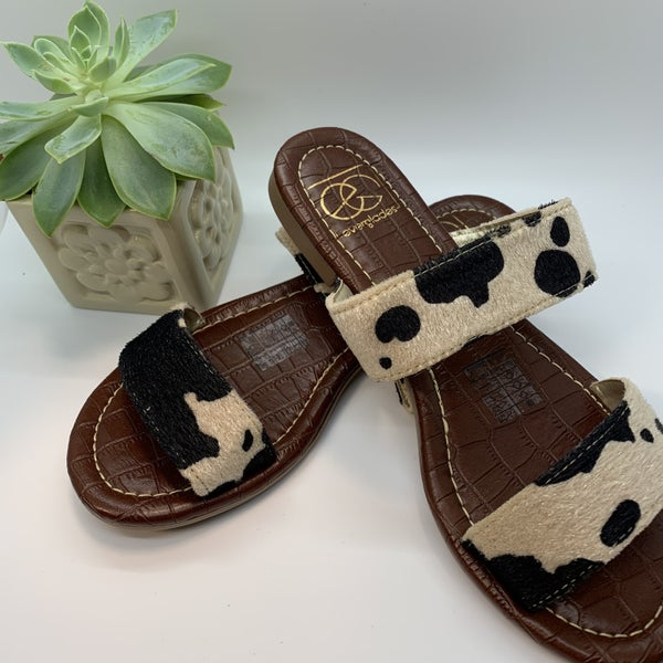 Gigi Cow Sandal