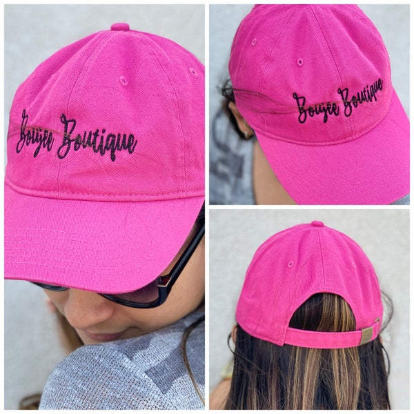 Boujee Boutique Embroidered Ballcap