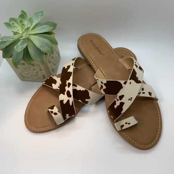 Juniper Cow Sandal