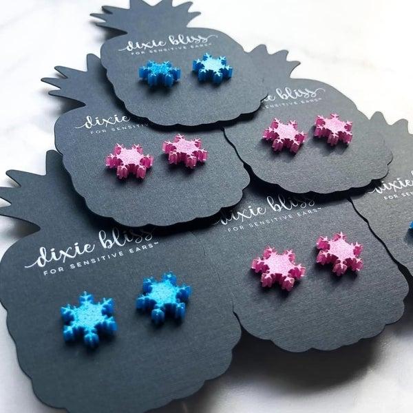 Dixie Bliss Funky Snowflakes