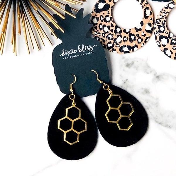 Odessa Honeycomb Earrings