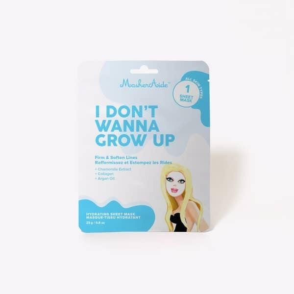 I Don't Wanna Grow Up Firming Sheet
