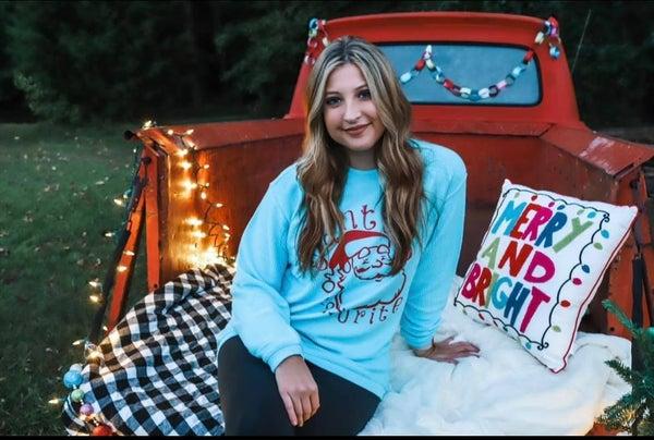 Santa's Favorite Corded Sweatshirt
