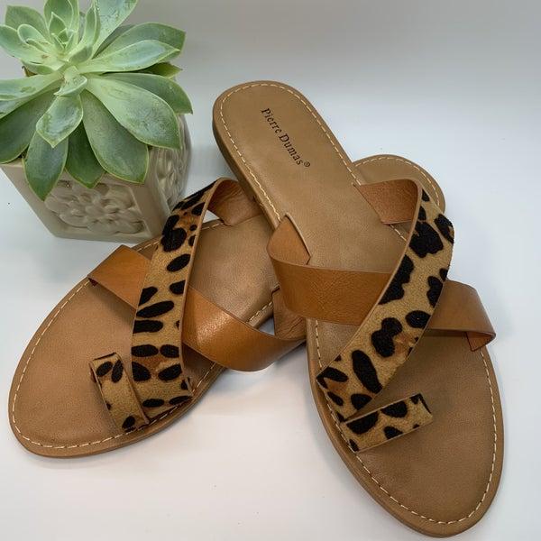 Juniper Leopard Sandal