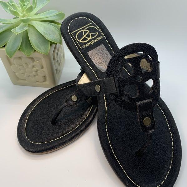 Lulu Black Sandal