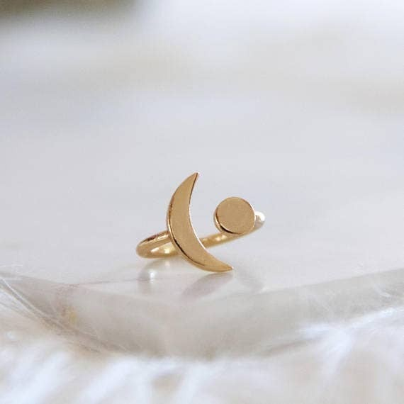 Gold Moon, Crescent Ring