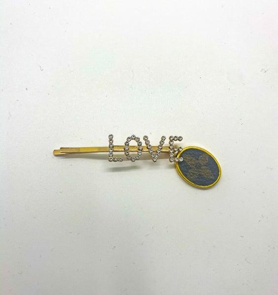 LOVE LV Hair Pin