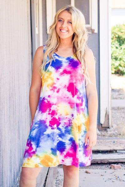 Alli Tie Dye Dress