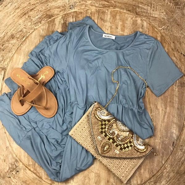 Sheryl Blue dress