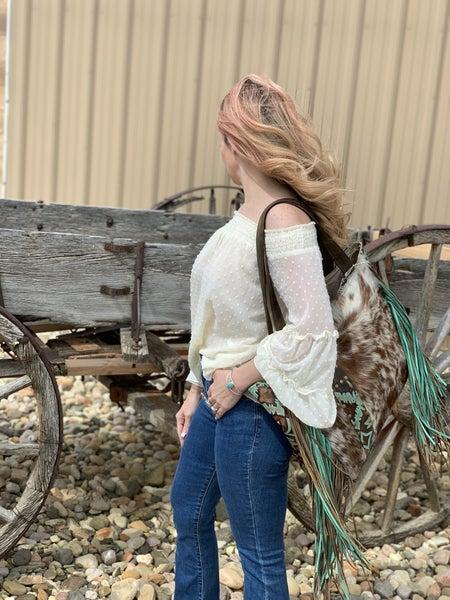 Kan Can Emilia Blossom Bell Bottom Jean