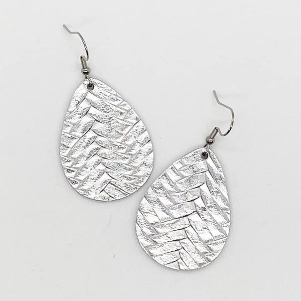 Metallic Silver Braided Itty Bitties