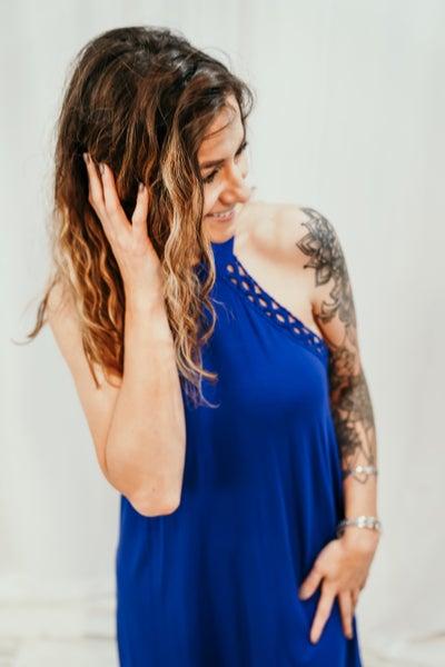 Kristel Blue  Dress