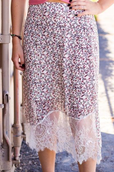 Mari Floral Skirt