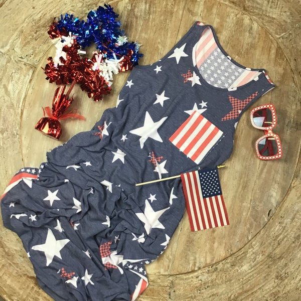 America Maxi Dress