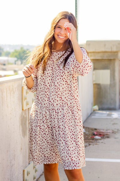 Blake Spice Abstract Floral Dress