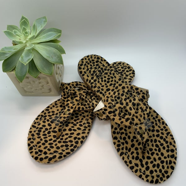 Lulu Cheetah Sandal