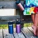 12 OZ Stainless Steel Kids Water Bottles