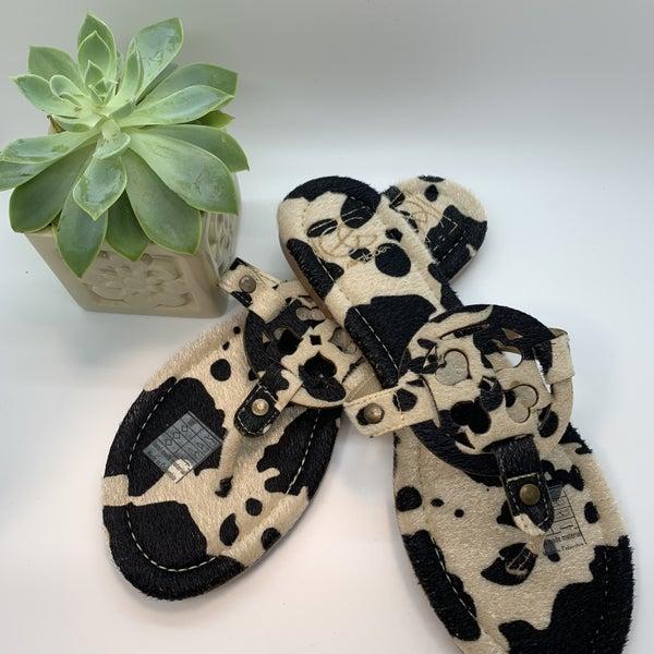Lulu Cow Sandal