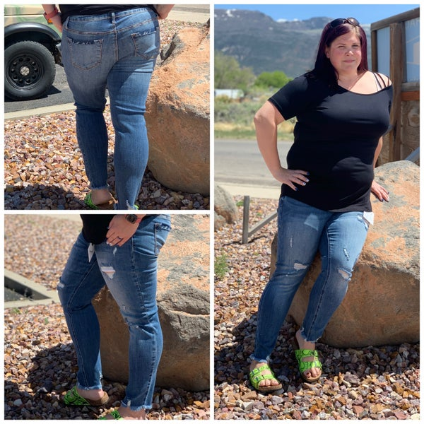Sasha Curvy High Rise Jean