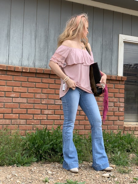 Kan Can Willow Bell Bottom Jean