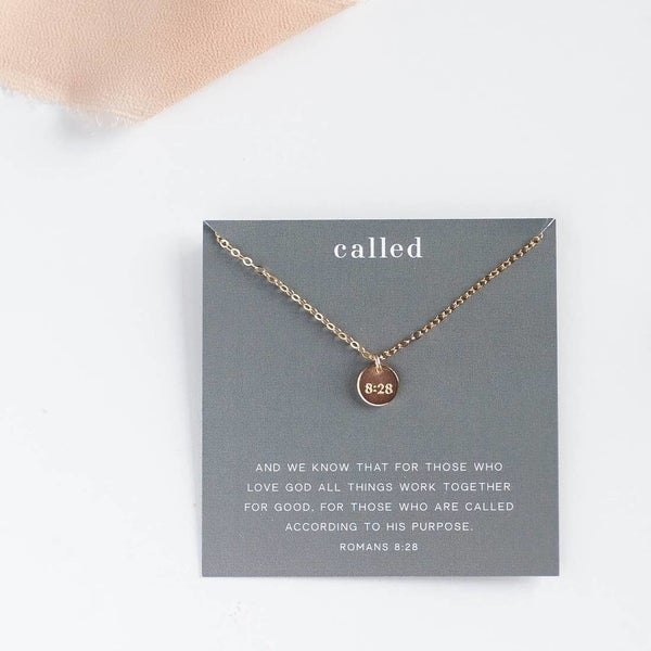 """Called"" Disc Necklace"