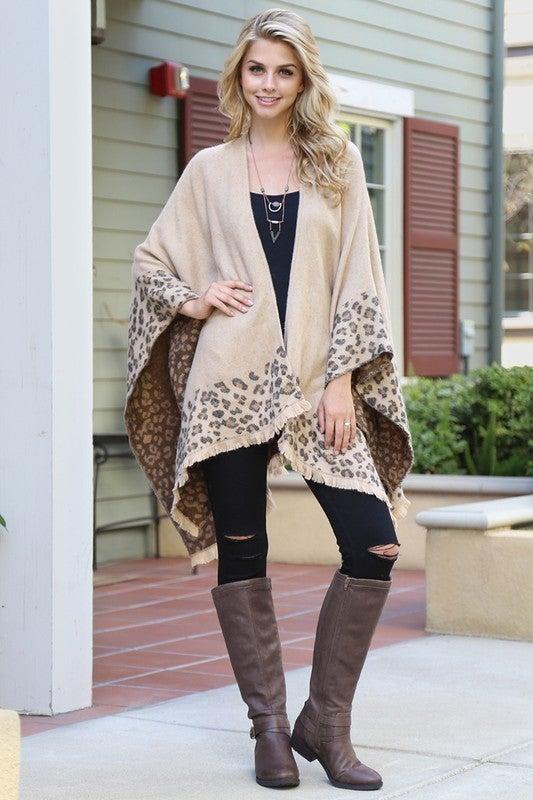 Love Me Leopard Shawl