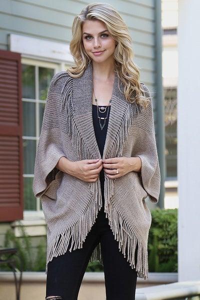 Woodlands Fringe Sweater