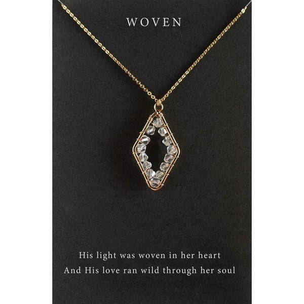 """""""Woven"""" Necklace"""