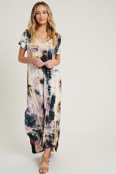 Venice Tie Dy Maxi Dress