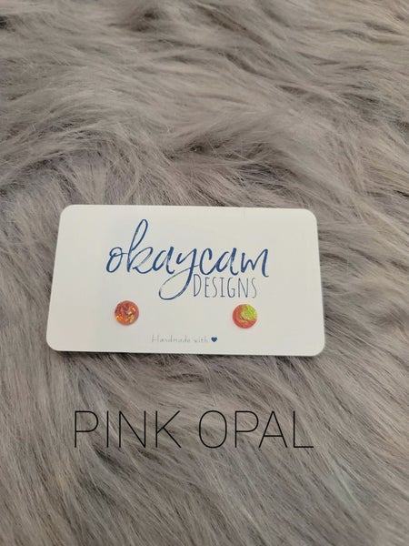 OkayCam Faceted Opal 8mm