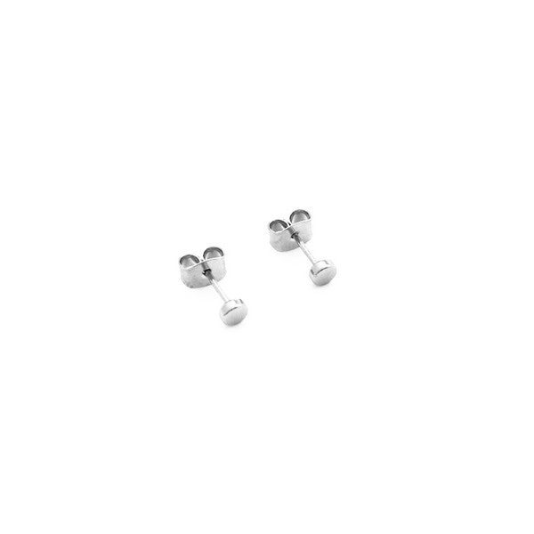 Mini Circle Stud Earrings