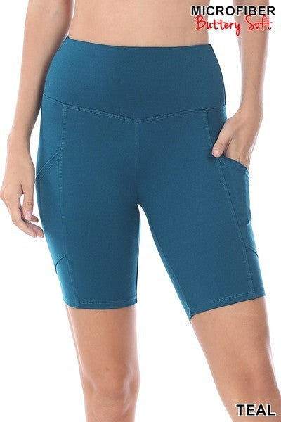 Black Friday Bermuda Shorts-Teal