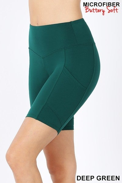 Black Friday Bermuda Shorts-Deep Green