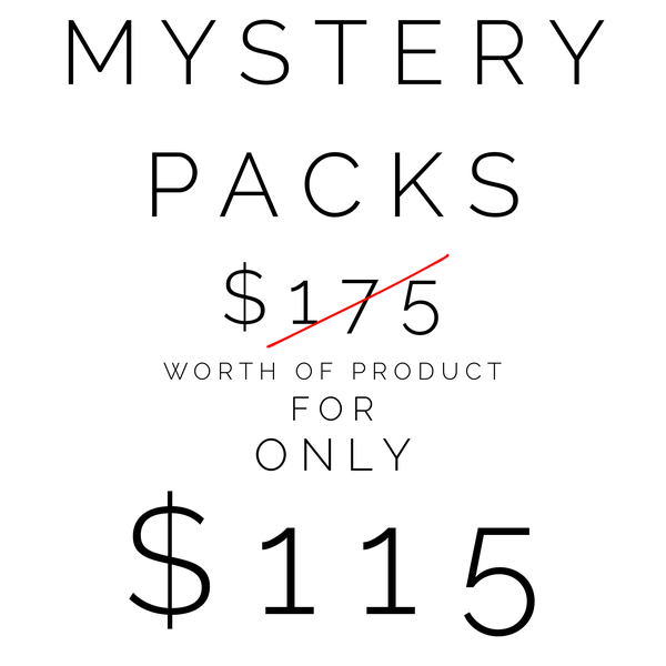 MYSTERY PACKS*NEW PRODUCT*