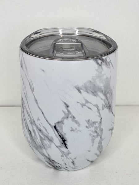 Marble Wine Glass